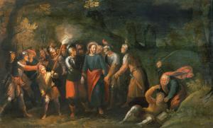 Christ in the Garden of Gethsemane by Hans Jordaens III