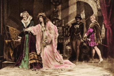 Ophelia in William Shakespeare