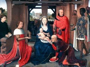 Adoration of the Magi, Triptych, Central Panel, C1453-1494 by Hans Memling