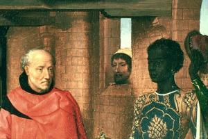 Adoration of the Magi, Triptych, Detail, C1453-1494 by Hans Memling