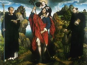 Altarpiece of the Moreel Chantry, 1484 by Hans Memling