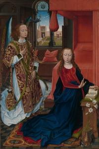 Annunciation, 1465-75 by Hans Memling