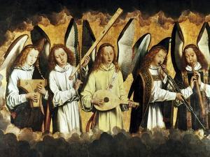 Choir of Angels by Hans Memling