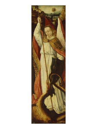 The Archangel Michael: a Compartment from a Portable Triptych