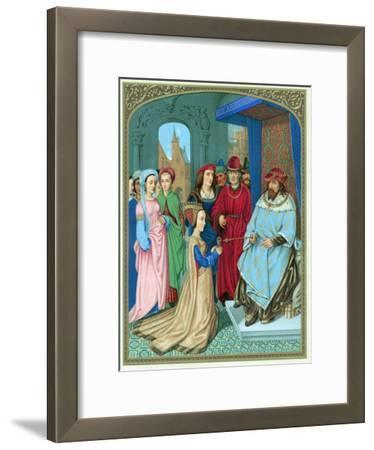 King Solomon Welcoming the Queen of Sheba