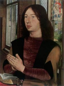 Martin Van Nieuwenhoven, 1487 by Hans Memling