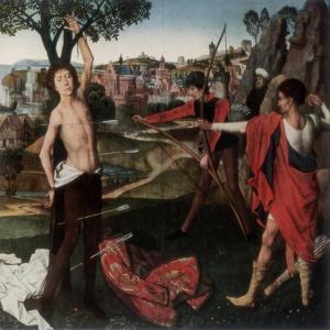 Martyrdom of St Sebastian by Hans Memling