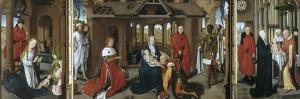 Nativity, the Adoration of the Magi. the Presentation of Jesus at the Temple, 1479-1480 by Hans Memling