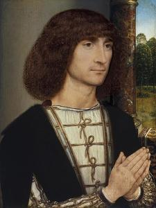 Portrait of a Young Man Praying, Ca 1485 by Hans Memling