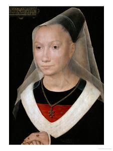 Portrait of a Young Woman, 1480 by Hans Memling