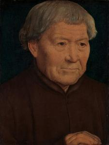 Portrait of an Old Man, c.1475 by Hans Memling
