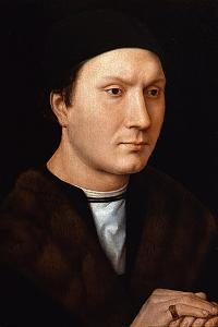 Portrait of an Unknown Man, Ca 1485 by Hans Memling