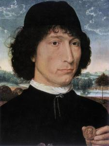 Portrait of Nicolo Spinelli, 1473-1474 by Hans Memling