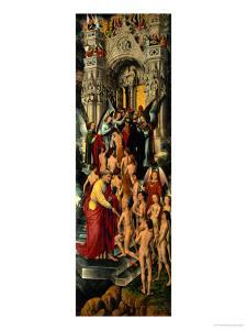 Reception of the Righteous into Heaven, Left Panel of Last Judgment Triptych, 1467-71 by Hans Memling