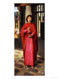 Saint John the Evangelist by Hans Memling