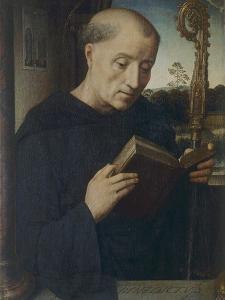 St. Benedict, 1487 by Hans Memling