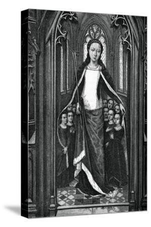 St Ursula and the Holy Virgins, from the Reliquary of St Ursula, 1489