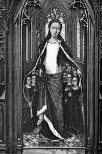 St Ursula and the Holy Virgins, from the Reliquary of St Ursula, 1489 by Hans Memling