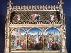 St Ursula Shrine, 1489 by Hans Memling