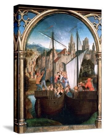 St Ursula Shrine, Arrival in Basle, 1489