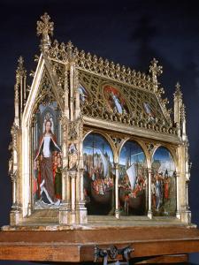 St Ursula Shrine, St Ursula and the Holy Virgins, 1489 by Hans Memling