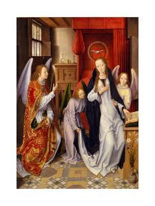 The Annunciation, 1480-89 by Hans Memling