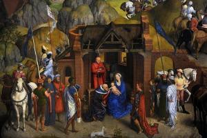 The Seven Joys of the Virgin, 1480 by Hans Memling