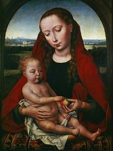 The Virgin and Child, 1480-1490 by Hans Memling