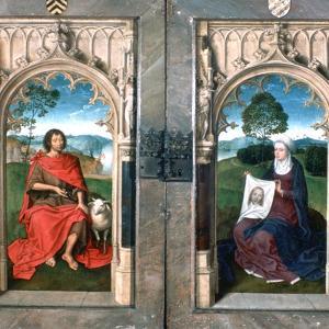 Triptych of Jan Florain, 1479 by Hans Memling