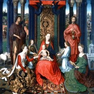 Triptych of St John the Baptist and St John the Evangelist, 1479 by Hans Memling