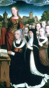 Triptych of the Family Moreel, 1484 by Hans Memling