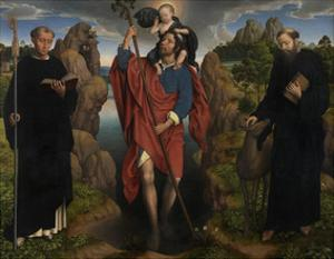 Triptych of Willem Moreel, 1484 by Hans Memling