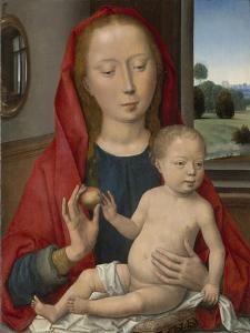Virgin and Child, 1485-90 by Hans Memling