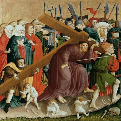Christ Carrying the Cross. the Wings of the Wurzach Altar, 1437