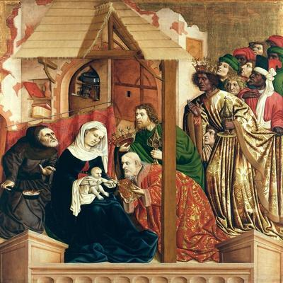The Adoration of the Magi, the Wings of the Wurzach Altar, 1437