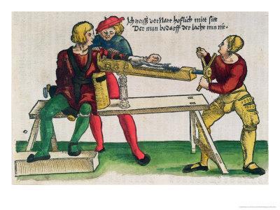 Apparatus For Healing Arm Fractures, Feldtbuch Der Wundartzney Hans Von Gersdorff, c.1540