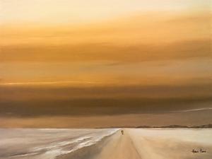 A Walk Along The Beach 2 by Hans Paus