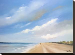 A Walk Along The Beach 7 by Hans Paus