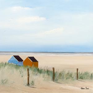 Beach Huts 3 by Hans Paus