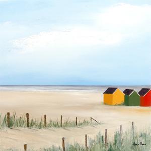 Beach Huts 4 by Hans Paus