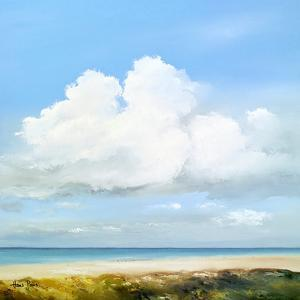 Clouds Above The Sea by Hans Paus