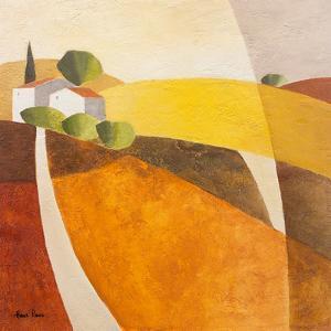 Hillside Houses 1 by Hans Paus
