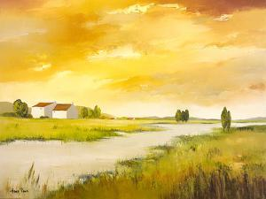 Little River by Hans Paus