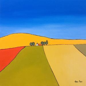 Patchwork Landscape by Hans Paus