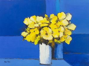 Yellow Flowers 1 by Hans Paus