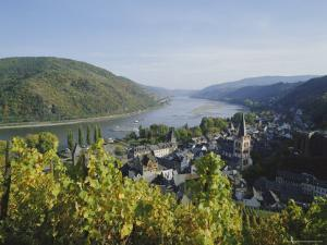 Bacharach, Rhine Valley, Germany, Europe by Hans Peter Merten