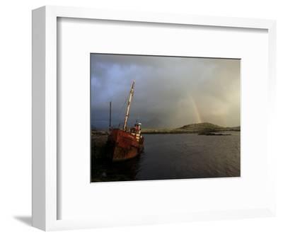 Ballynakill Harbour, Connemara, County Galway, Connacht, Eire (Republic of Ireland)