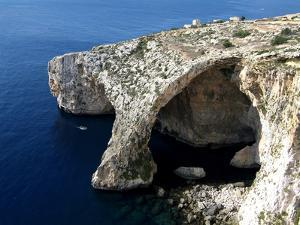 Blue Grotto Near Zurrieq, Malta, Mediterranean, Europe by Hans Peter Merten