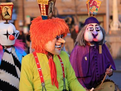 Carnival of Basel (Basler Fasnacht), Basel, Canton of Basel City, Switzerland, Europe