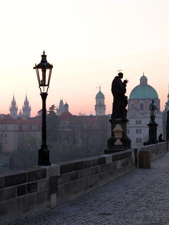 Charles Bridge, UNESCO World Heritage Site, Old Town, Prague, Czech Republic, Europe